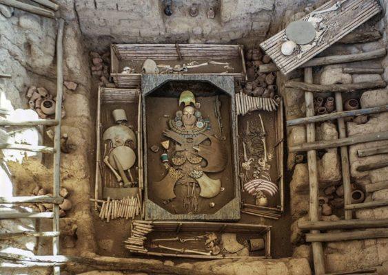 la tombe du seigneur Sipan
